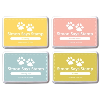 Simon Says Stamp Premium Dye Ink Pad Set DEBBY'S PICKS SetDC206 The Color of Fun