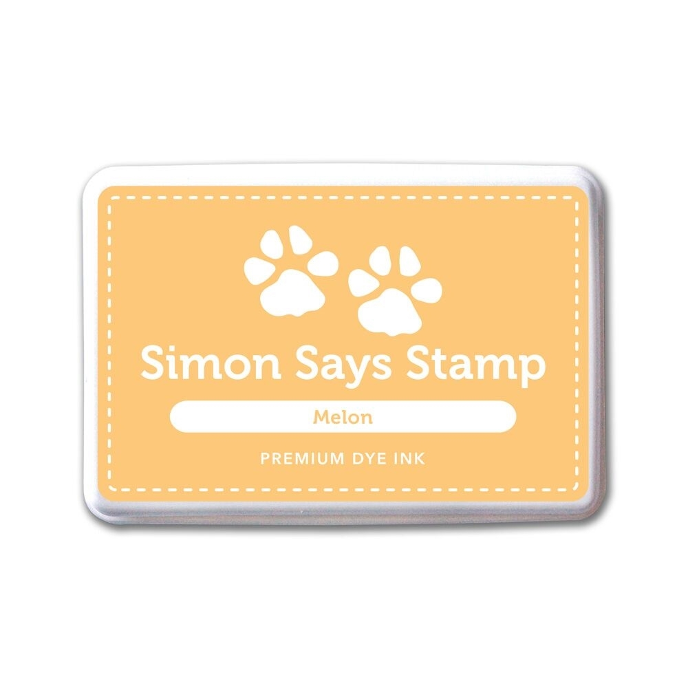 Simon Says Stamp Premium Dye Ink Pad MELON ink049 The Color of Fun zoom image