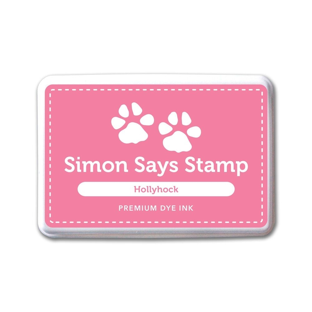 Simon Says Stamp Premium Dye Ink Pad HOLLYHOCK ink050 The Color of Fun zoom image