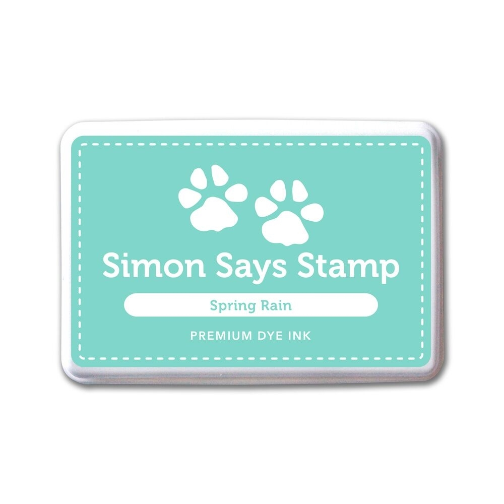 Simon Says Stamp Premium Dye Ink Pad SPRING RAIN ink051 The Color of Fun zoom image