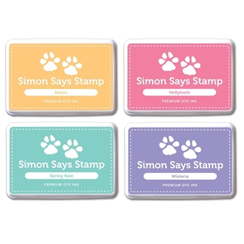 Simon Says Stamp Premium Dye Ink Pad Set SHARI'S PICKS SetSC207 The Color of Fun