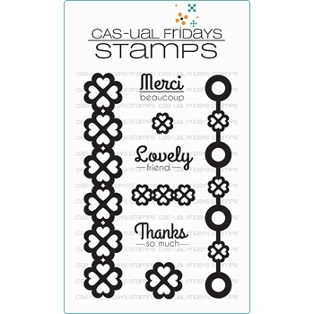 CAS-ual Fridays LOVELY Clear Stamps CFS15006