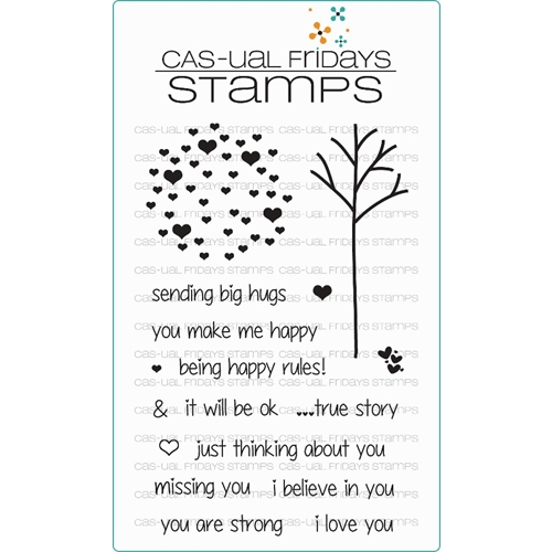 CAS-ual Fridays CALM AND LOVING Clear Stamps CFS15010 Preview Image