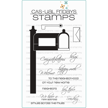 CAS-ual Fridays HAPPY MAIL Clear Stamps CFSS15004