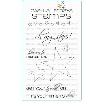 CAS-ual Fridays TWINKLE Clear Stamps CFSS15005