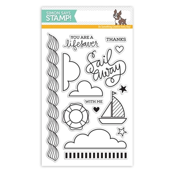 Simon Says Clear Stamps SAILING sss101535 *