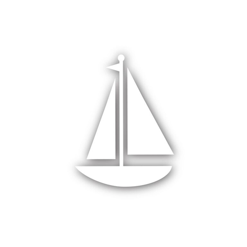 Simon Says Stamp SAILBOAT Wafer Die sssd111488 Preview Image