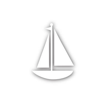 Simon Says Stamp SAILBOAT Wafer Die sssd111488