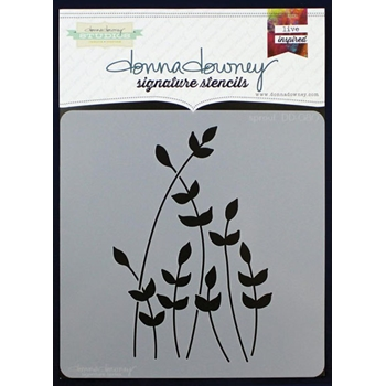 Donna Downey SPROUT Signature Stencil DD080