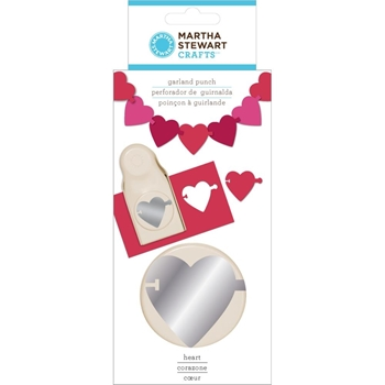 Martha Stewart Garland Punch HEART 42-39010*