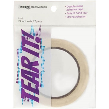 Tsukineko TEAR IT Double Sided Adhesive 27yds CTTAP001