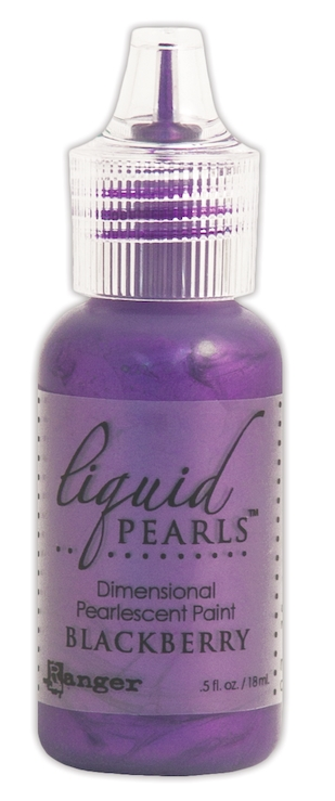 Ranger BLACKBERRY Liquid Pearls Pearlescent Paint LPL47674 zoom image