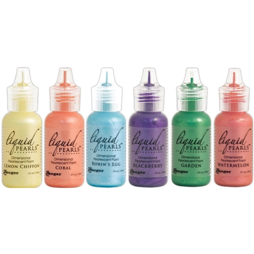 Ranger SET OF 6 Liquid Pearls Pearlescent Paint Ranger69 Preview Image