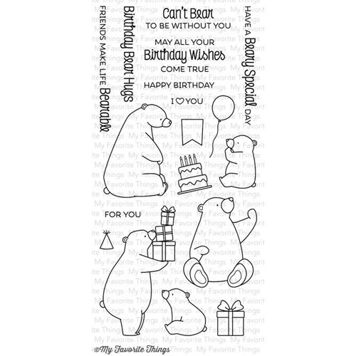 My Favorite Things BIRTHDAY BEARS Clear Stamps BB21 Preview Image
