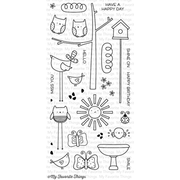 My Favorite Things THINGS WITH WINGS Clear Stamps MSTN11
