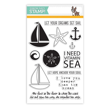 Simon Says Clear Stamps SAIL AWAY sss101525