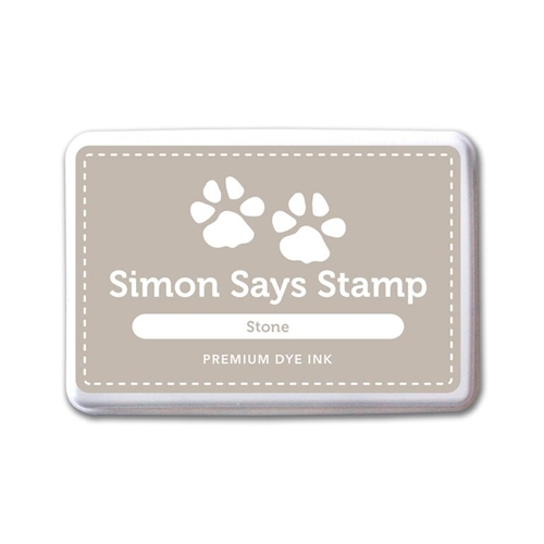 Simon Says Stamp Premium Dye Ink Pad STONE ink062 Splash of Color Preview Image