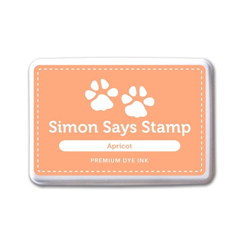 Simon Says Stamp Premium Dye Ink Pad APRICOT ink061 Splash of Color Preview Image