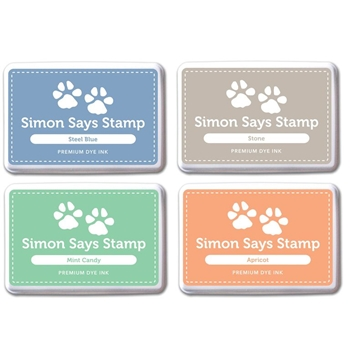 Simon Says Stamp Premium Dye Ink Pad Set SHARI'S PICKS 2 SetSP215 Splash of Color