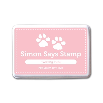 Simon Says Stamp Premium Dye Ink Pad TWIRLING TUTU ink057 Splash of Color
