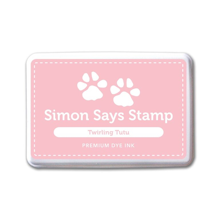 Simon Says Stamp Premium Dye Ink Pad TWIRLING TUTU