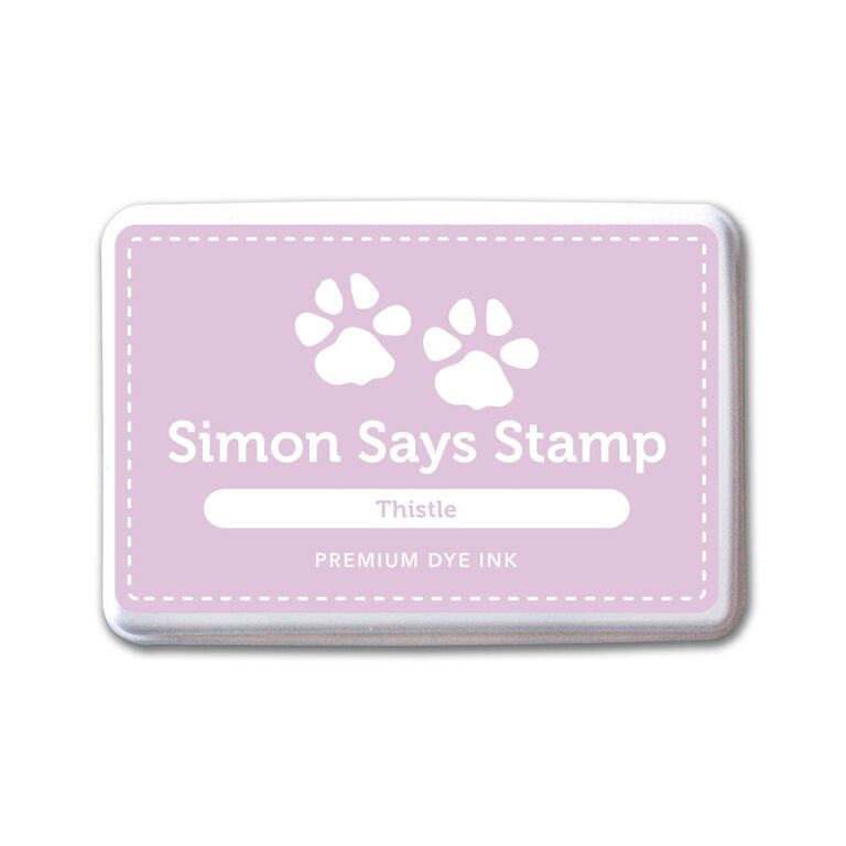 Simon Says Stamp Premium Dye Ink Pad THISTLE ink058 Splash of Color zoom image