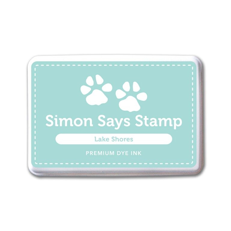 Simon Says Stamp Premium Dye Ink Pad LAKE SHORES ink059 Splash of Color zoom image