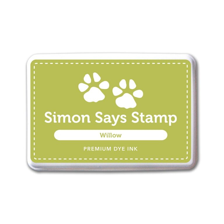 Simon Says Stamp Premium Dye Ink Pad WILLOW ink060 Splash of Color zoom image