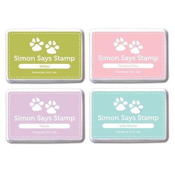 Simon Says Stamp Premium Dye Ink Pad Set DEBBY'S PICKS #2 SetDP214 Splash of Color