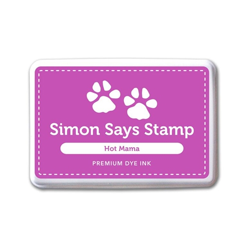 Simon Says Stamp Premium Dye Ink Pad HOT MAMA ink054 Splash of Color Preview Image