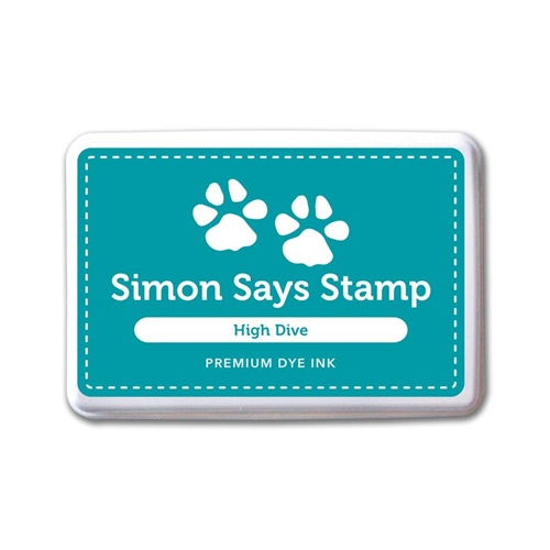 Simon Says Stamp Premium Dye Ink Pad HIGH DIVE ink055 Splash of Color Preview Image