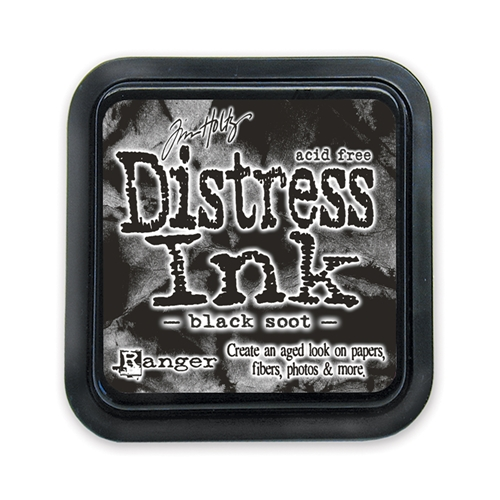 Tim Holtz Distress Ink Pad BLACK SOOT Ranger TIM19541 Preview Image