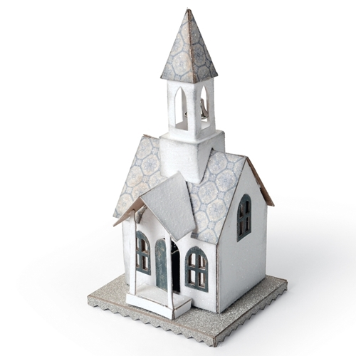 Tim Holtz Sizzix Die VILLAGE BELL TOWER Bigz 660987 Preview Image