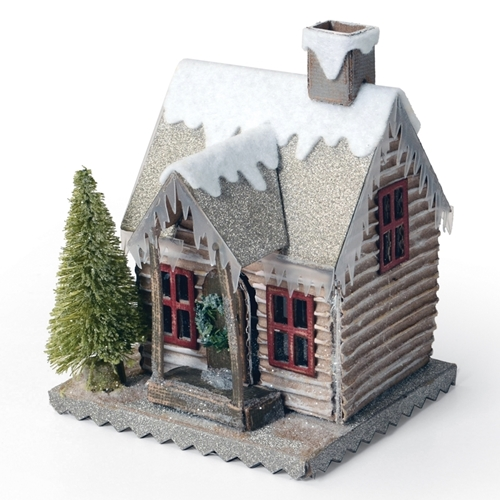 Tim Holtz Sizzix Winter Village Bigz Die