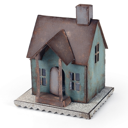 Tim Holtz Sizzix Die VILLAGE DWELLING Bigz XL 660992 Preview Image