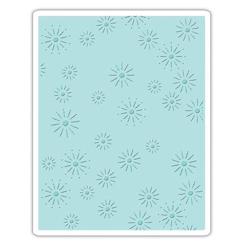 Tim Holtz Sizzix SPARKLES Texture Fades Embossing Folder 661001 Preview Image