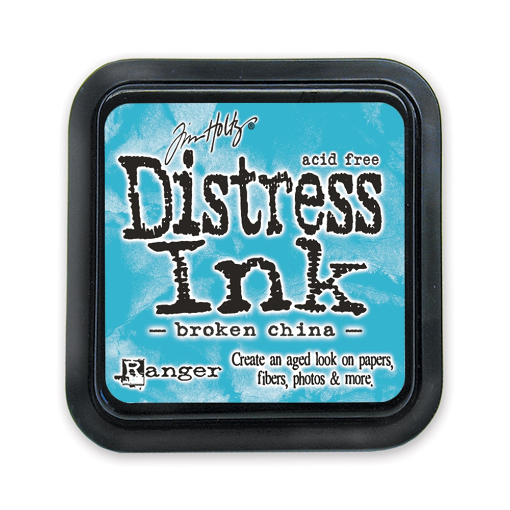 Tim Holtz Distress Ink Pad BROKEN CHINA