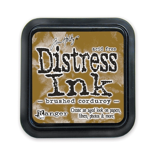Tim Holtz Distress Ink Pad BRUSHED CORDUROY Ranger TIM21421 Preview Image