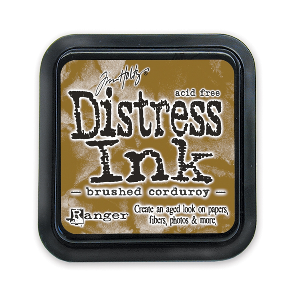 Tim Holtz Distress Ink Pad BRUSHED CORDUROY Ranger TIM21421 zoom image