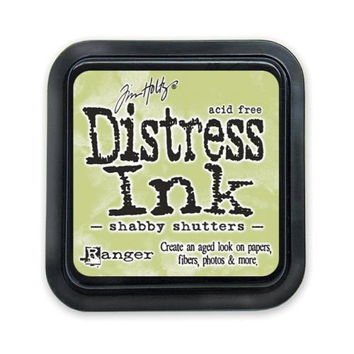Tim Holtz Distress Ink Pad SHABBY SHUTTERS Ranger TIM21490 Preview Image