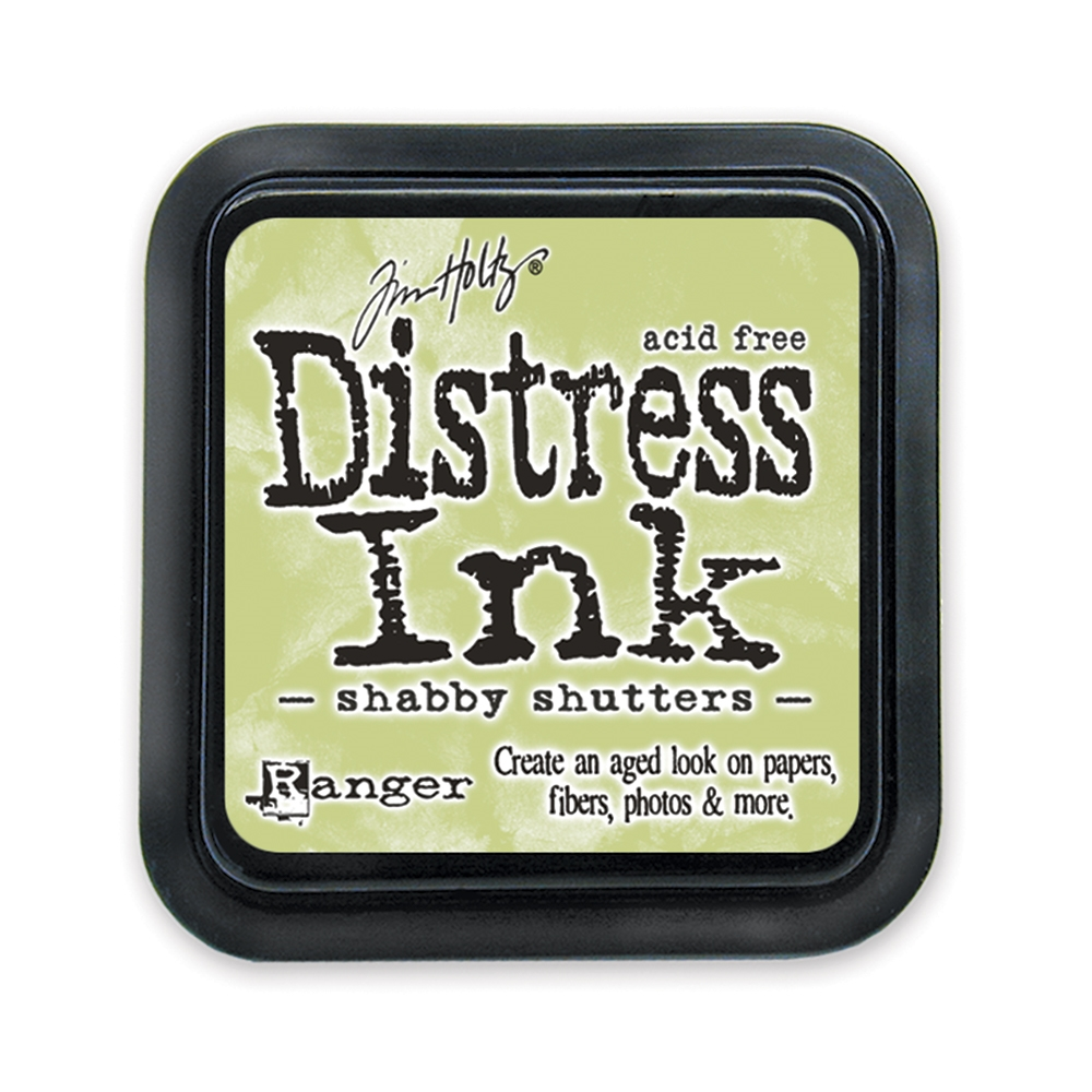 Tim Holtz Distress Ink Pad SHABBY SHUTTERS Ranger TIM21490 zoom image