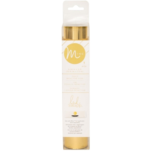 Heidi Swapp GOLD MINC 6 Inch Reactive Foil Roll 312102 Preview Image