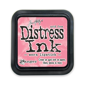 Distress ink pad Worn Lipstick