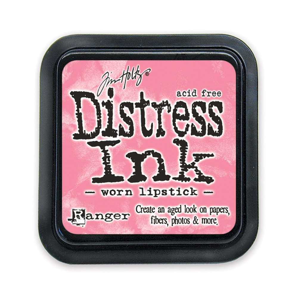 Tim Holtz Distress Ink Pad WORN LIPSTICK