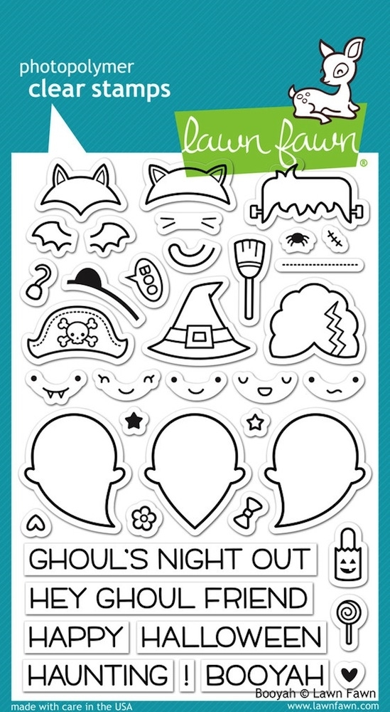Lawn Fawn BOOYAH Clear Stamps LF932 zoom image