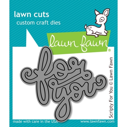 Lawn Fawn SCRIPTY FOR YOU Lawn Cuts Die LF990 Preview Image