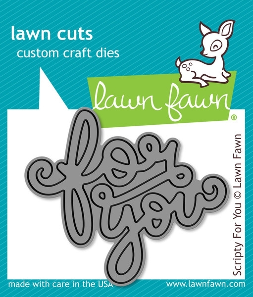 Lawn Fawn SCRIPTY FOR YOU Lawn Cuts Die LF990 zoom image