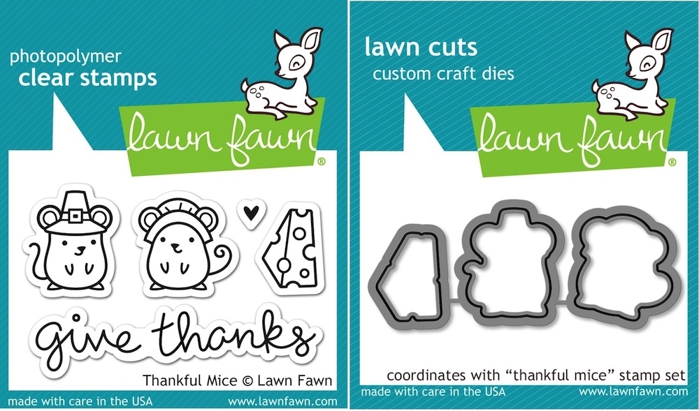 Lawn Fawn SET LF15SETTM PILGRIMS Clear Stamps and Dies zoom image