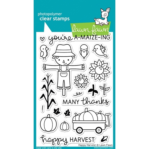 Lawn Fawn HAPPY HARVEST Clear Stamps LF971 Preview Image