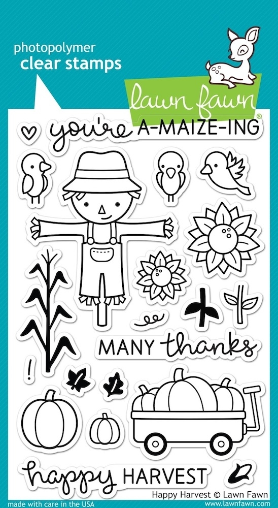 Lawn Fawn HAPPY HARVEST Clear Stamps LF971 zoom image